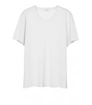 American Vintage DENVER t-shirt - hvid