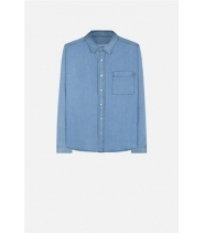 AMI LES CLASSIQUES - DENIM skjorte