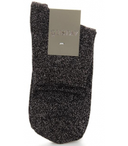 Ankle socks with lurex - 16903