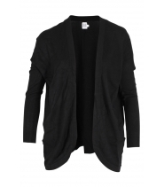 Basic strik cardigan fra Saint Tropez - M2560
