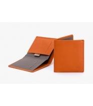 Bellroy note sleeve - burnt orange