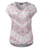 Blomsterprint bluse fra Streetone - 31036