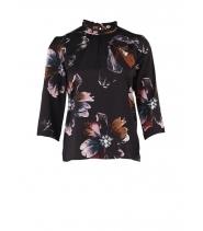 Bluse med print fra Saint Tropez