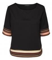 Bluse med striper fra Ilse Jacobsen - Cayla40