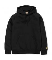 Carhartt Chase hoodie - sort