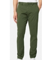 CHINO TROUSERS - KHAKI GREEN