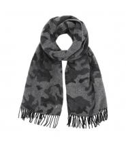 Dondup dread tørklæde - grå/sort