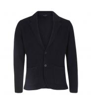 Lardini navy cardigan jakke