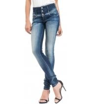 Elegant jeans slim mid waist - Salsa