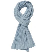 Fint strikket halstørklæde med lurex fra Gustav