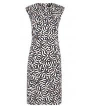 Kjole i safari print fra Summum