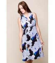 Kjole med mønster