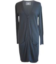 Lang cardigan fra Drys - 13686