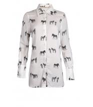 Lang skjorte fra Rue de femme