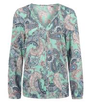 Langærmet bluse fra S.Oliver - 14.601.11.6215