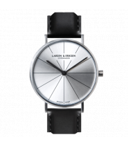 Larsen & Eriksen Watch 41 mm Silver / Silver / Bl