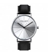 Larsen & Eriksen Watch 41 mm Silver / Silver / Bl