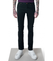 LEAN FITTED JEANS - BLACK STRETCH