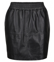 LEATHER SKIRT - ILSE JACOBSEN SCAP01