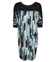 Loose oversize kjole fra Ilse Jacobsen - NICE87CP