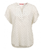 Patterned viscose blouse - S.Oliver