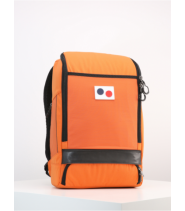 PinqPonq Cubik backpack - Lava Orange