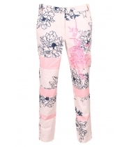 Printed pants 7/8 length