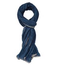 Rynket silketørklæde fra Gustav - 22802