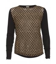 Silke bluse fra PBO - HUBERT
