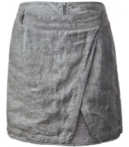 Skirt oil washed