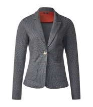 Sweat blazer fra Street One