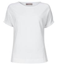 T-shirt med rund hals fra Gustav - 19707