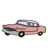 Valley Cruise pink Cadillac