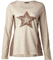 Washed star shirt